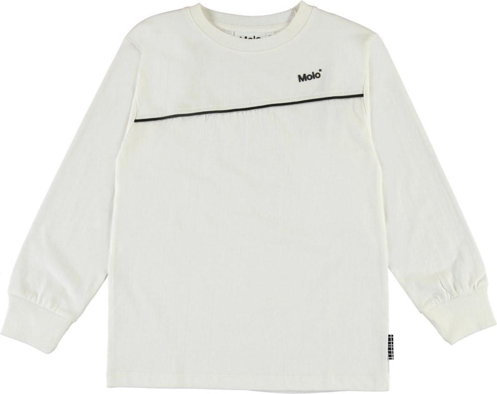 Rasmono - White - Ekologisk vit tröja