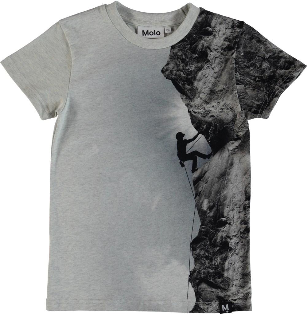 Raven - Climber - T-Shirt -Grå