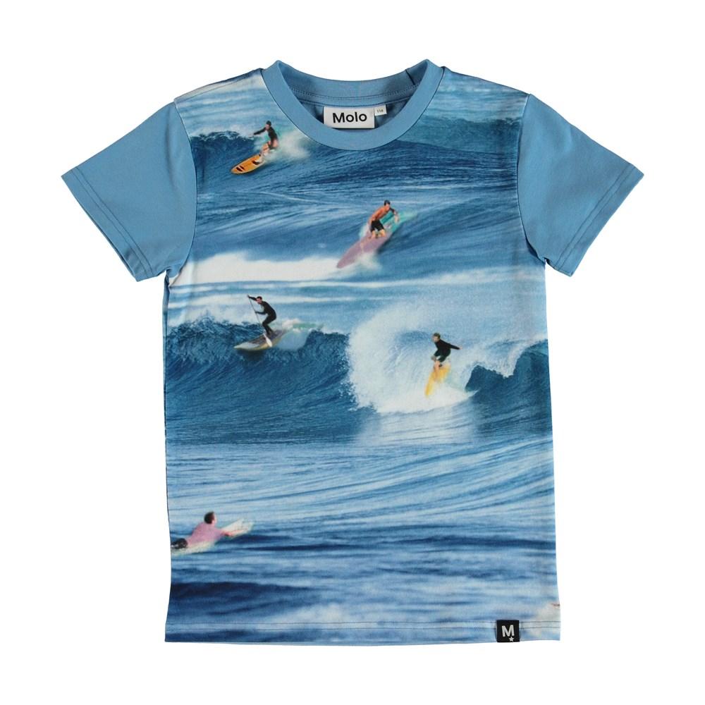 Raven - Surfers - T-Shirt - Blå