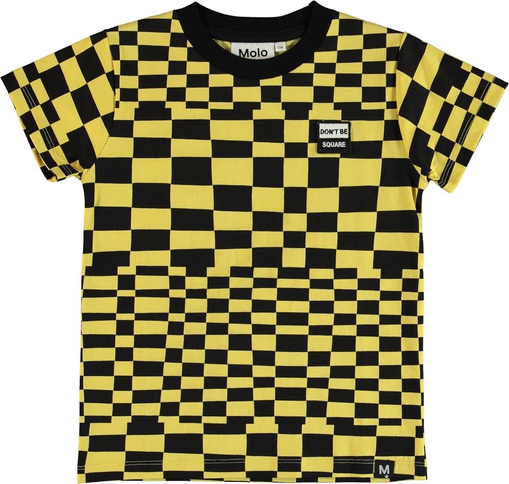 Raymont - Check Stripe - T-Shirt