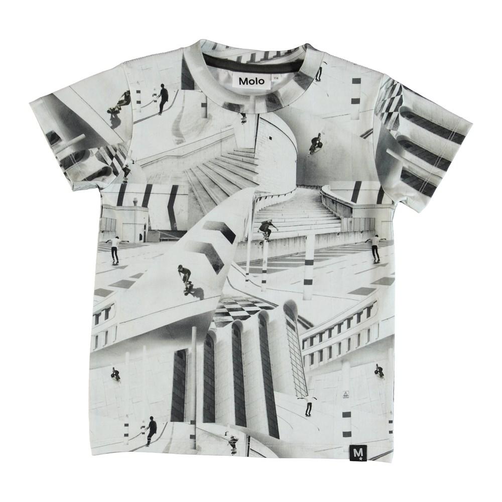 Raymont - City Skate - T-shirt med tryck av skateboardåkare