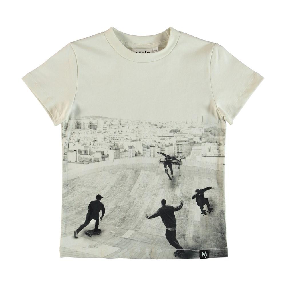 Raymont - Free Skate - T-shirt med skateboardpark tryck.