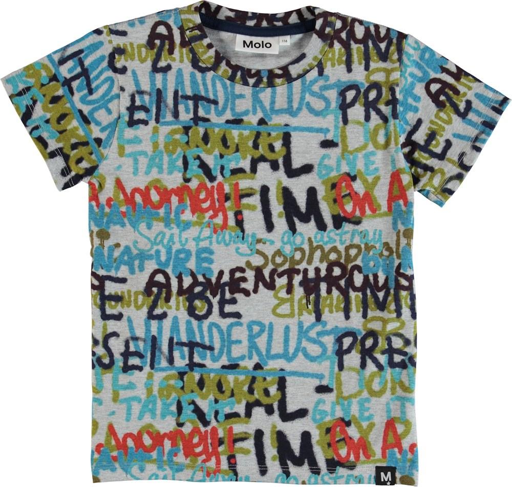 Raymont - Tags - T-Shirt - Grå