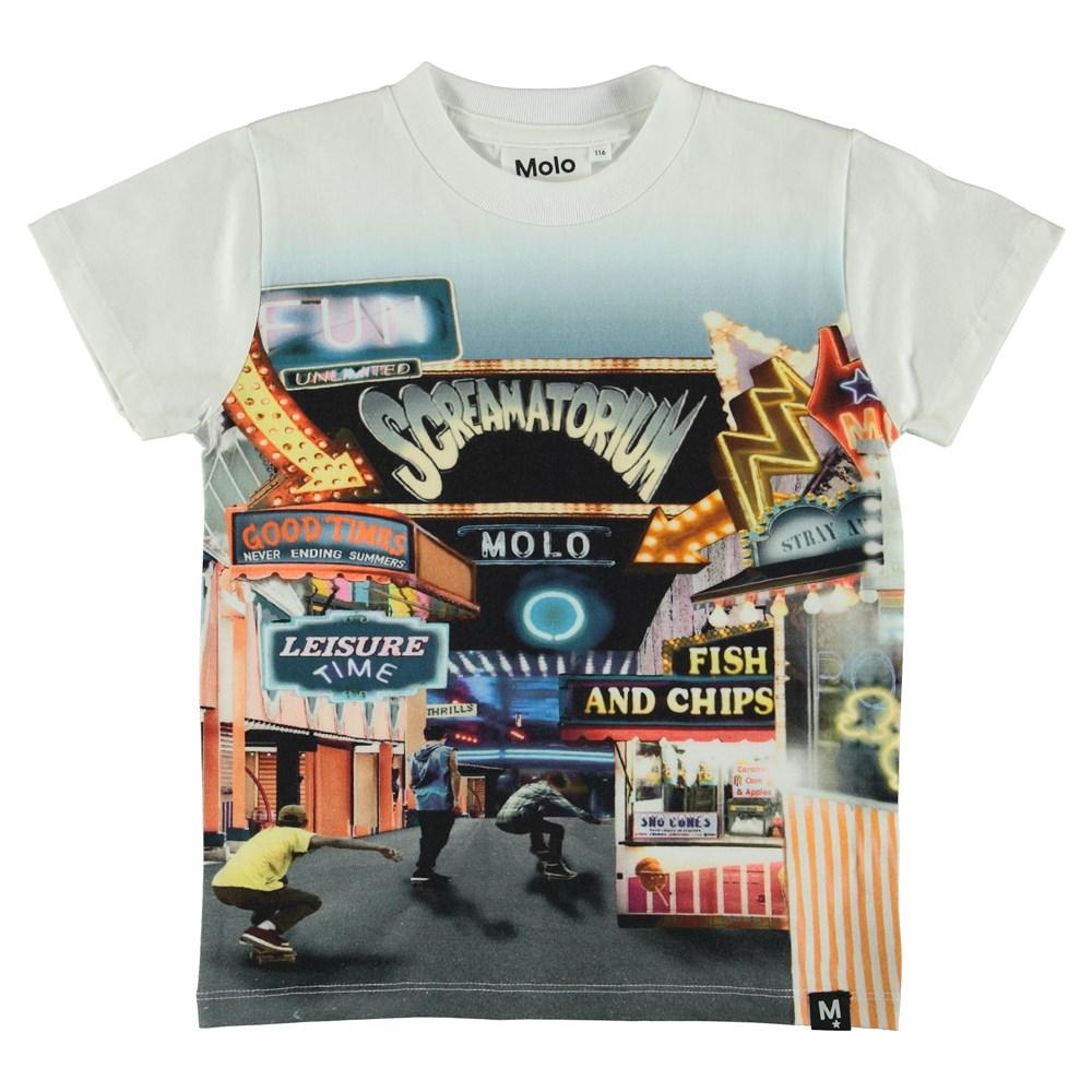 Raymont - Tivoli - T-Shirt - Vit