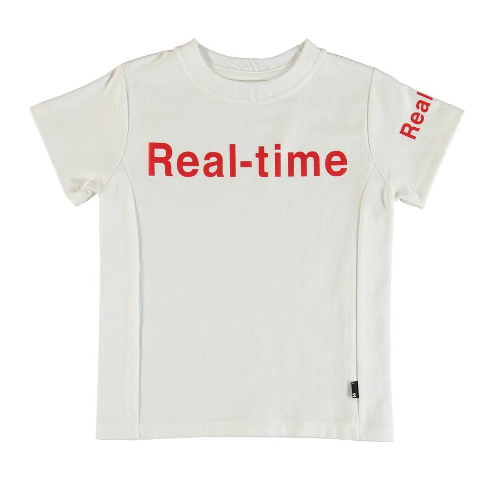 Rem - White - T-Shirt Vit
