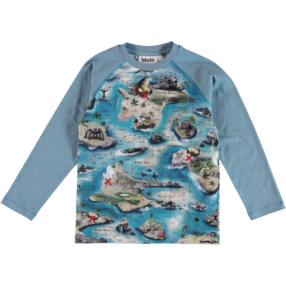 Remington - Treasure Map - Blus - S
