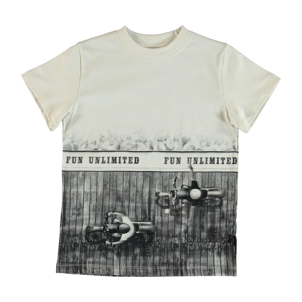 Road - Fun Unlimited - T-Shirt - Vit