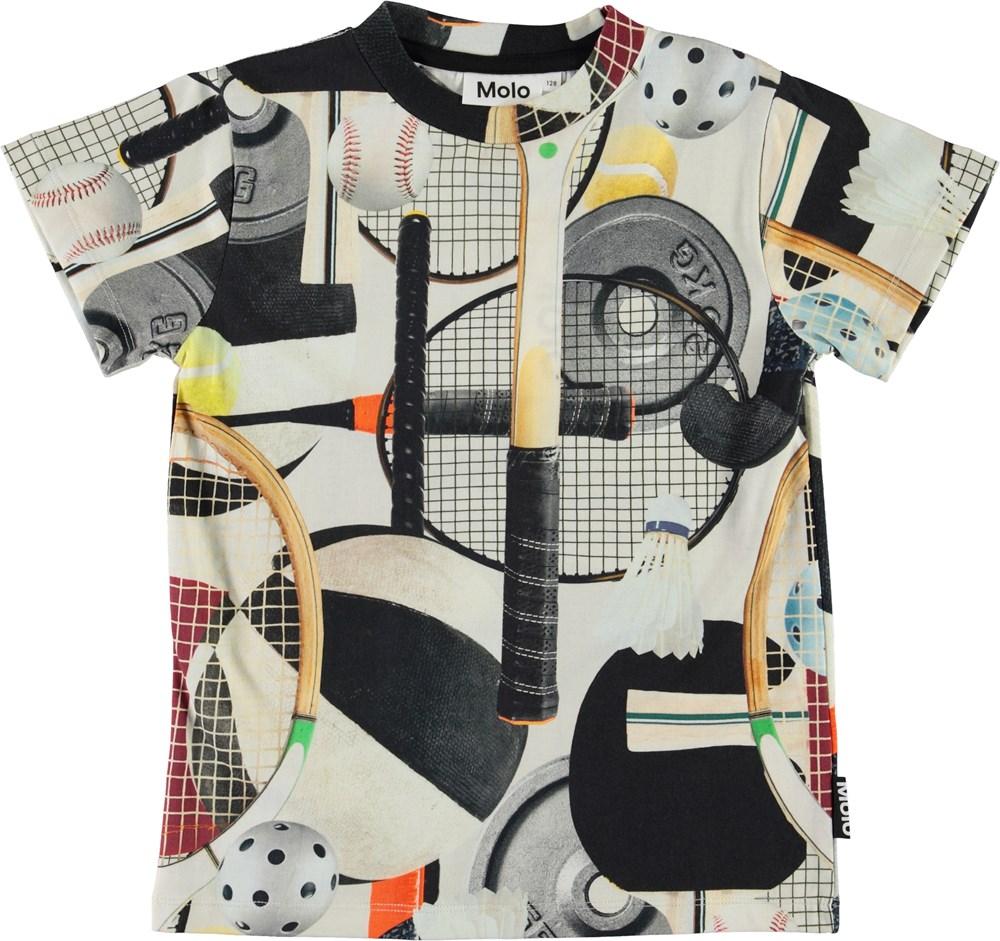 Road - Sports Gear - Ekologisk sport t-shirt