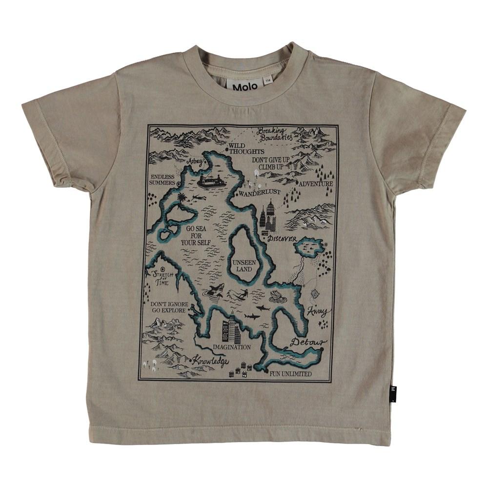 Runi - Sand - T-Shirt