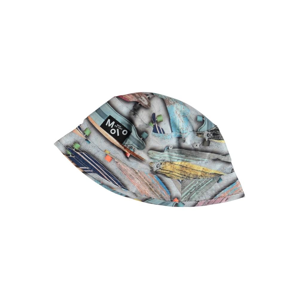Niks - Board Stripe - Bucket hat with skateboards