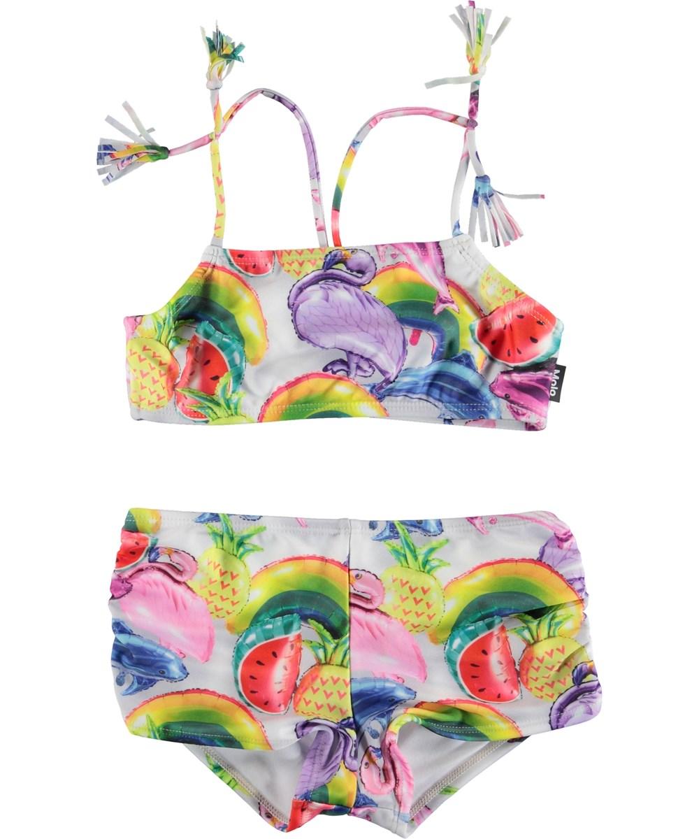 Nadetta - Balloons - UV Bikini with ballon print and tassels