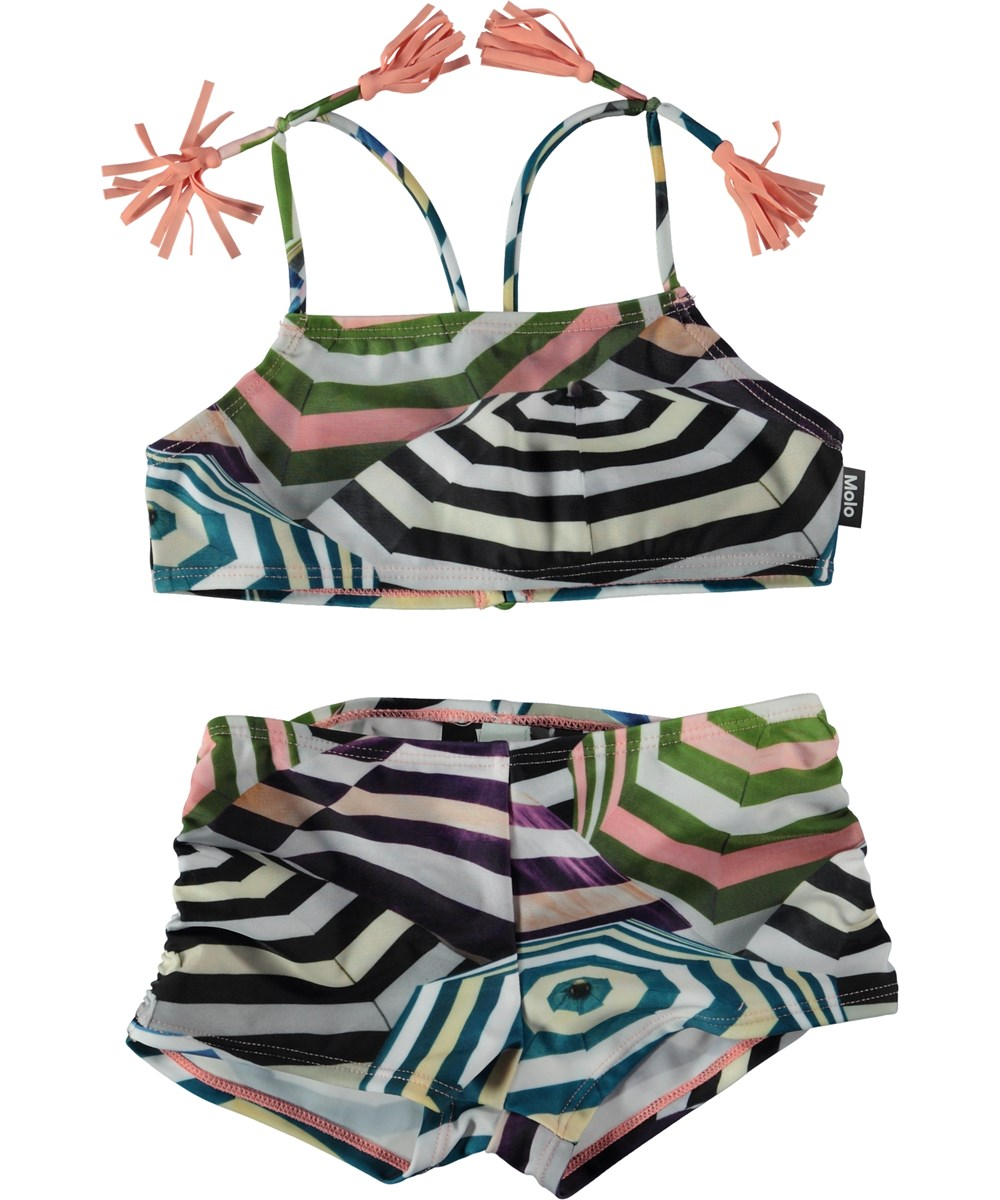 Nadetta - Multi Parasol - Bikini with parasol print