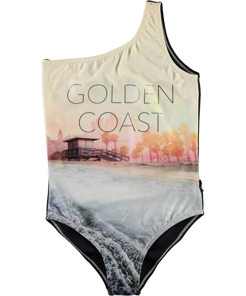 Nai - Golden Coast - UV asymmetric golden coast swimsuit