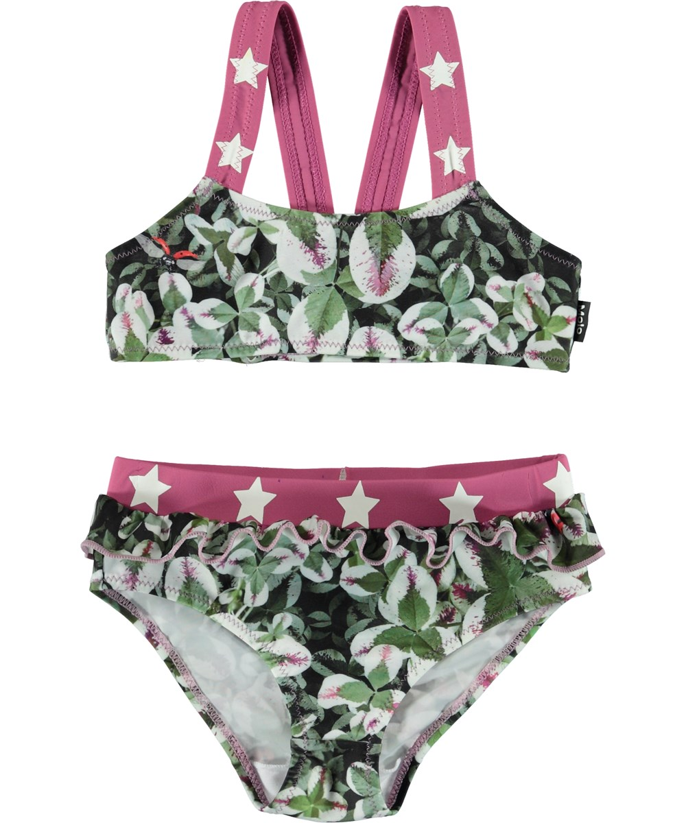 Naila - Clover - Bikini with star straps.