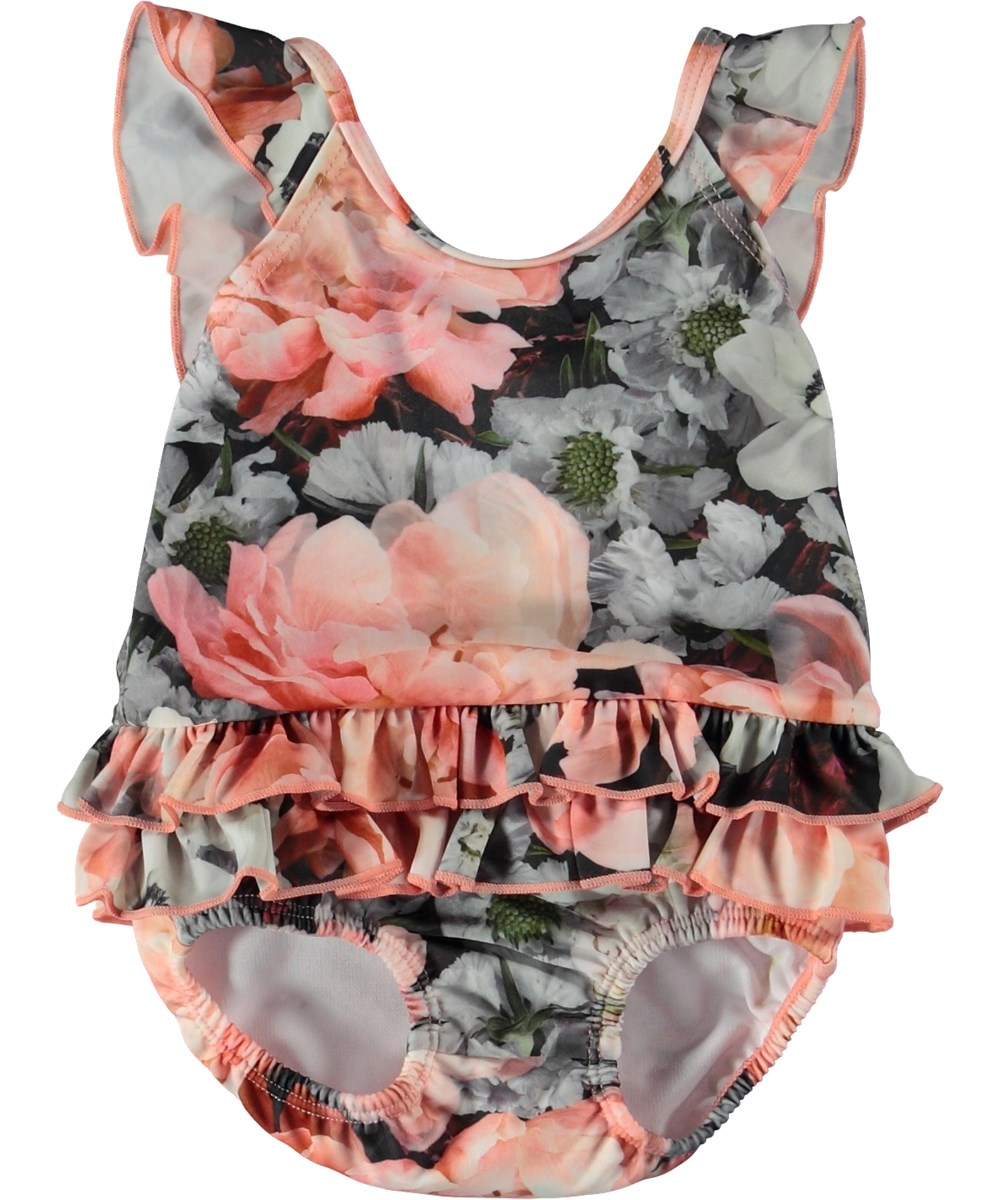 Nalani - Blossom - Baby swimsuit with ruffles