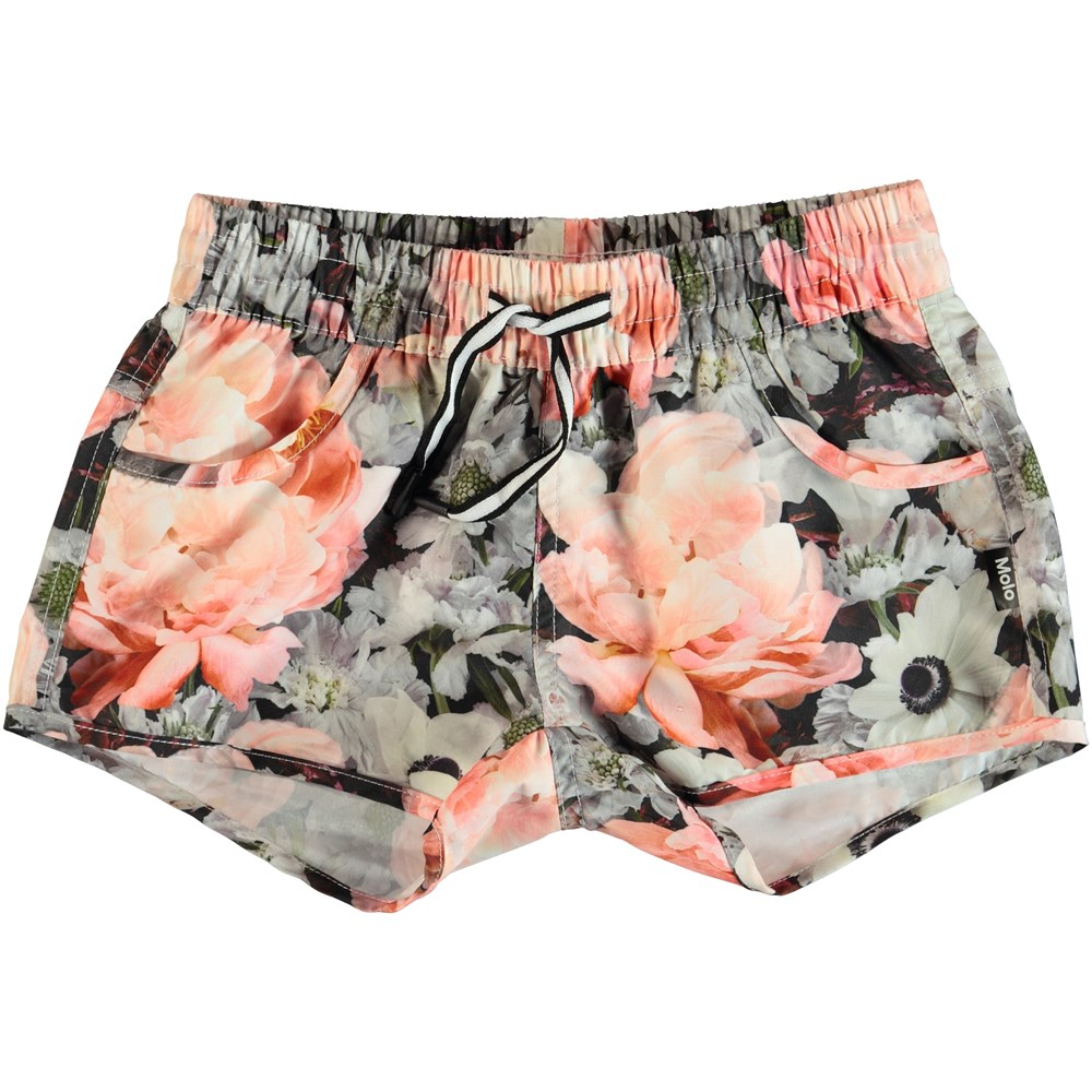 Nalika - Blossom - Flowered swim trunks