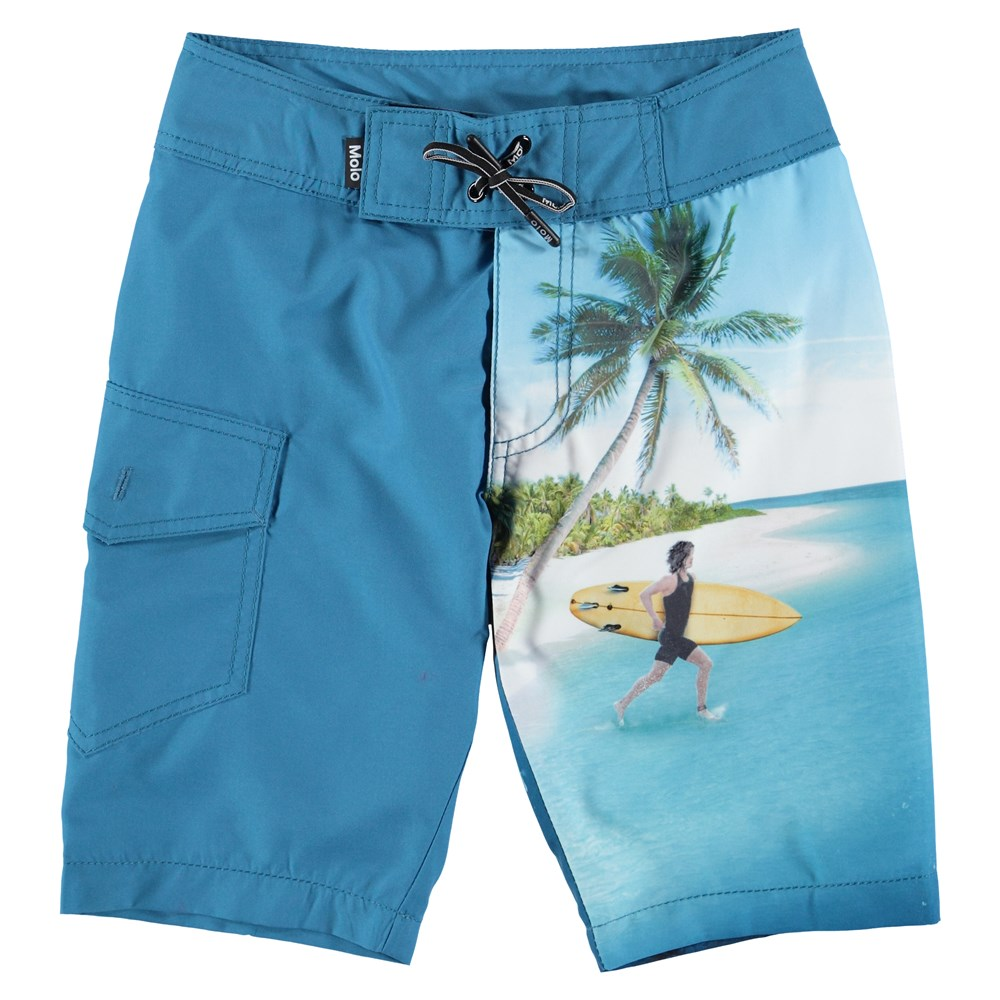 Nalvaro - Surf Surprice - Swim Trunks