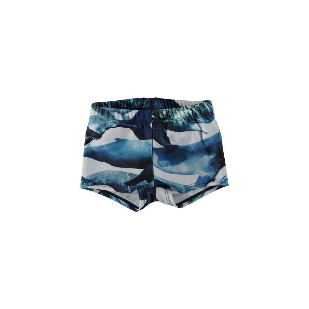 Nansen - Whales - Baby swim trunks