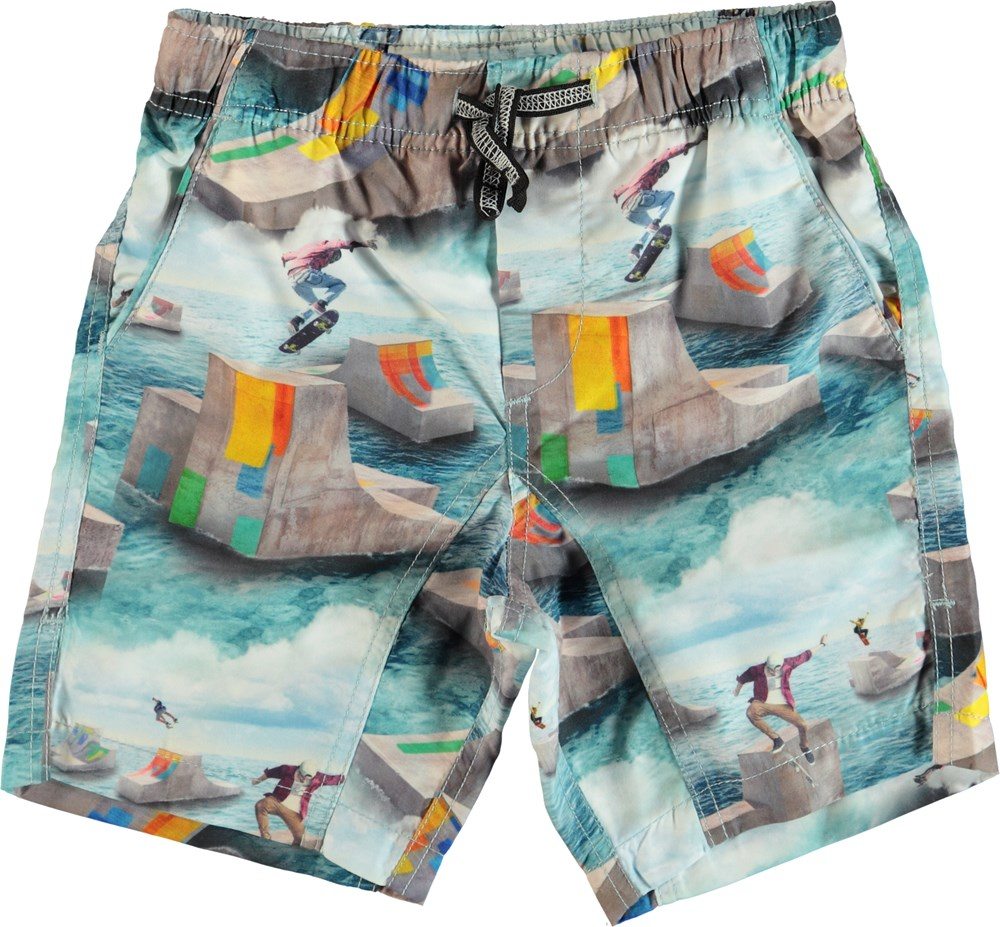 Nario - Ocean Skate - Swim trunks with back pocket