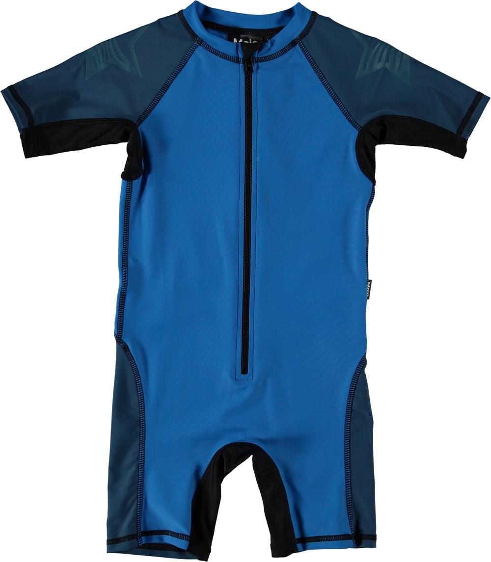 Neka Block - Indigo Blue - Colour block swimsuit