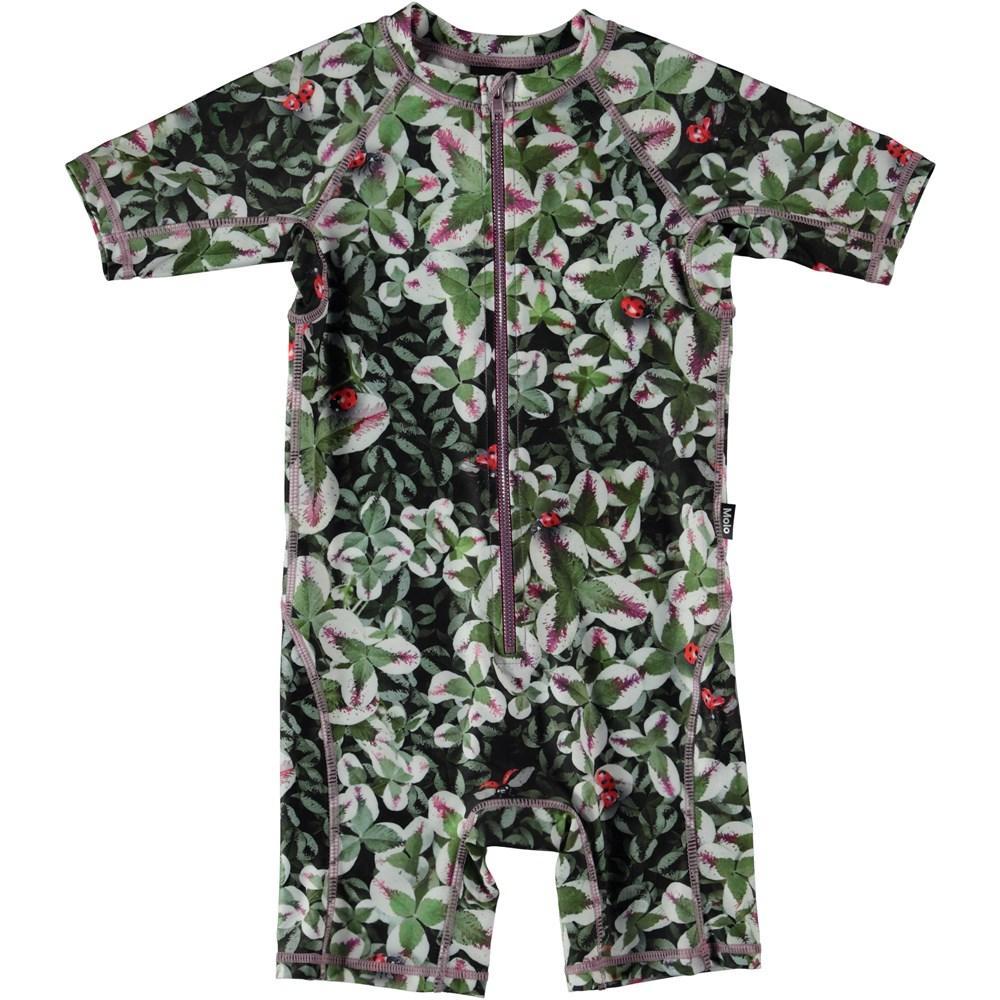 Neka - Clover - UV swimsuit with clover print.