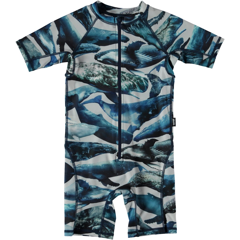 Neka - Whales - Swimsuit with whales