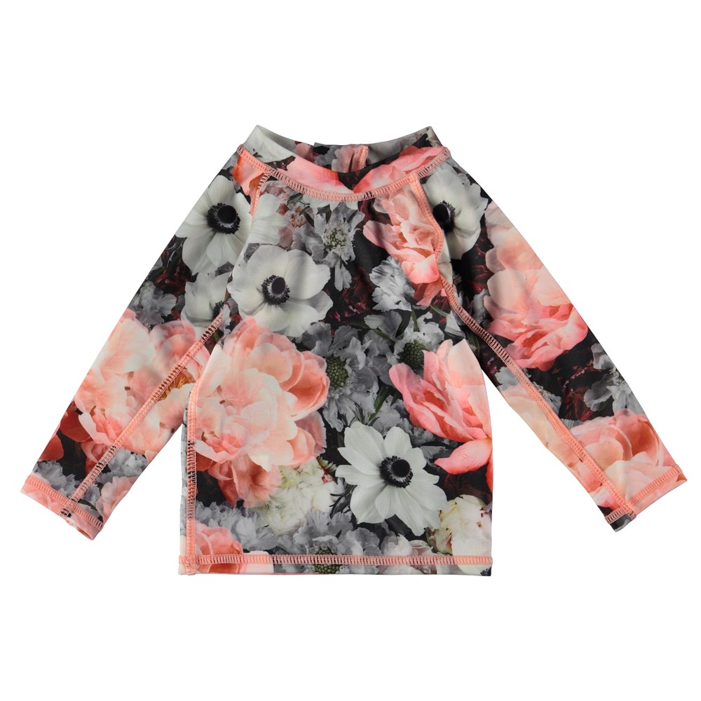 Nemo - Blossom - Baby rash guard with flowers