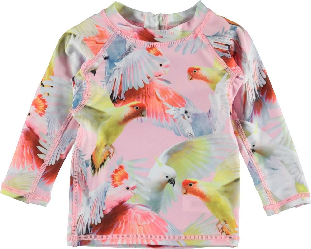 Nemo - Cockatoos - Baby UV rashguard with parrots