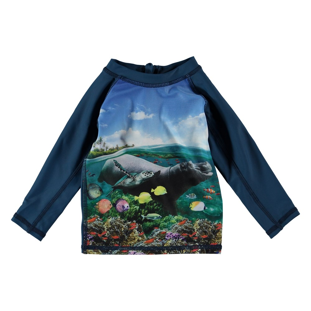 Nemo - Imagine - Baby rash guard with hippo