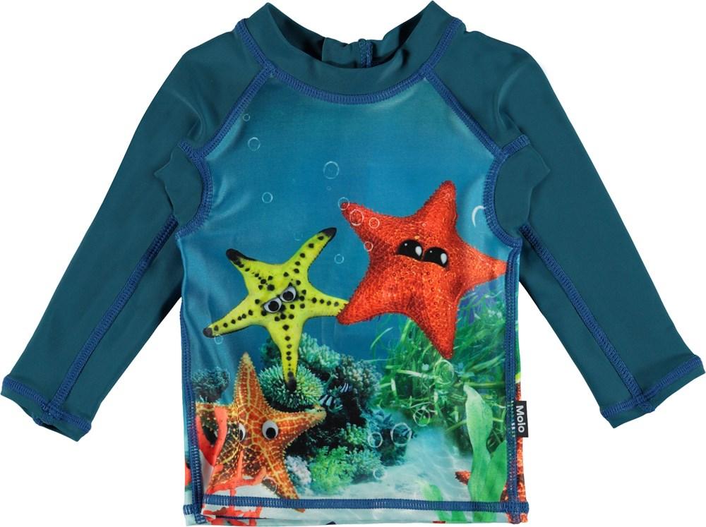 Nemo - Moody Stars - Baby UV rashguard with starfish