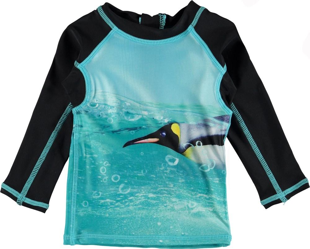 Nemo - The Penguin - Baby UV rashguard with penguins