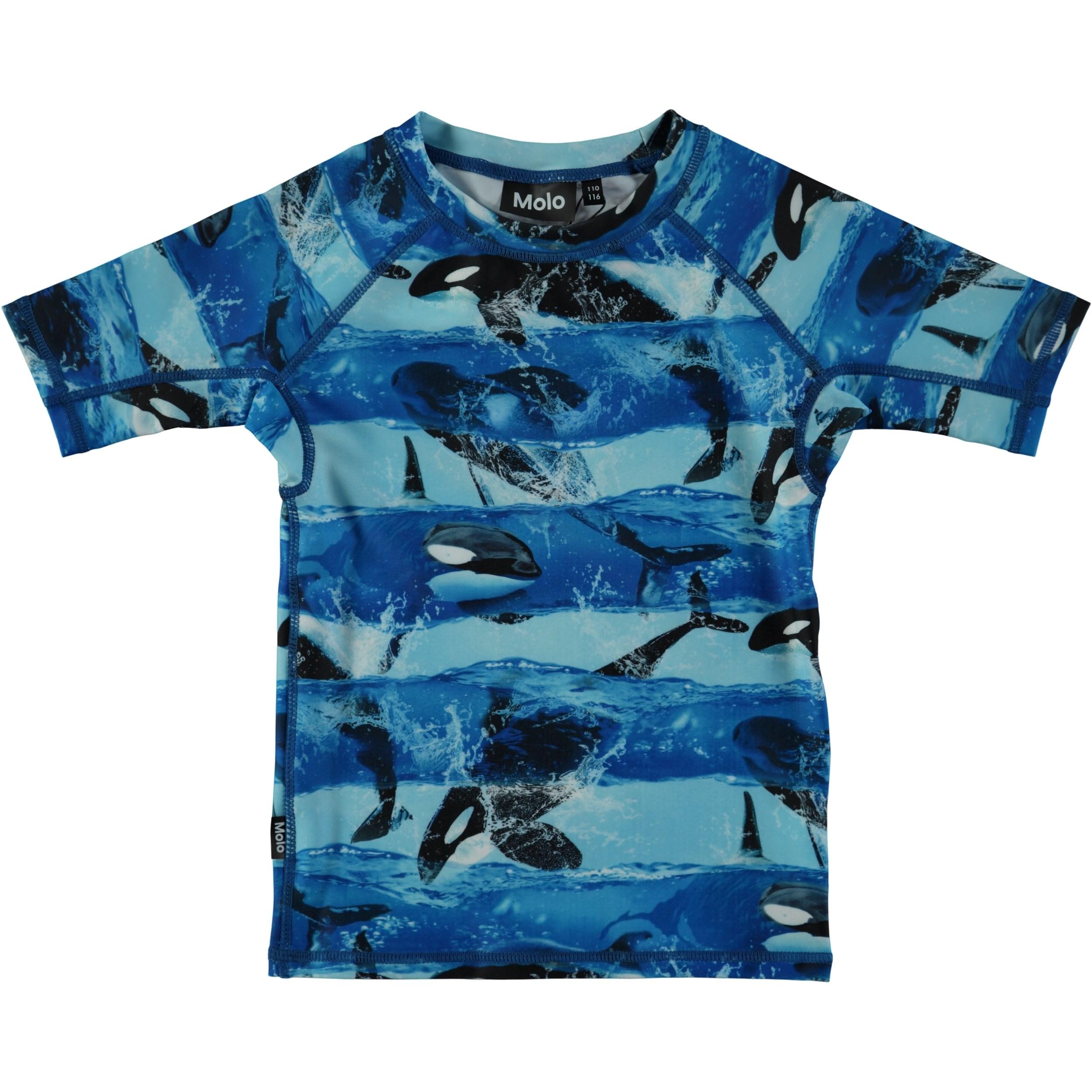 Blue Orca Short Sleeve Rashie