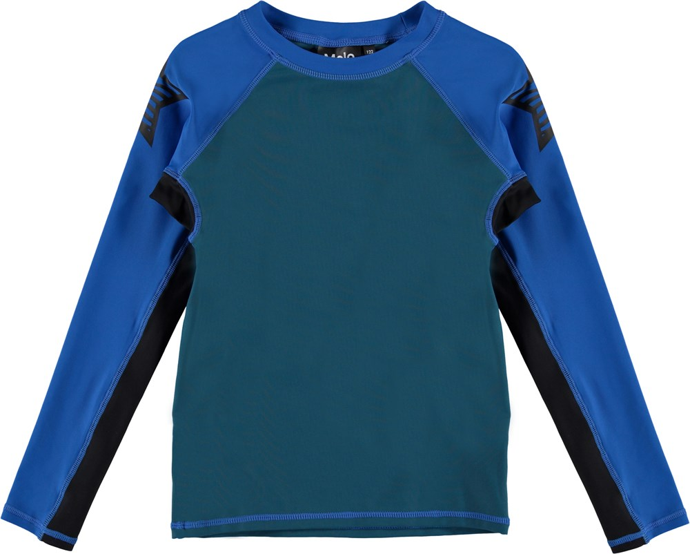 Neptune LS Block - Skydive Block - Swim blouse in block colors