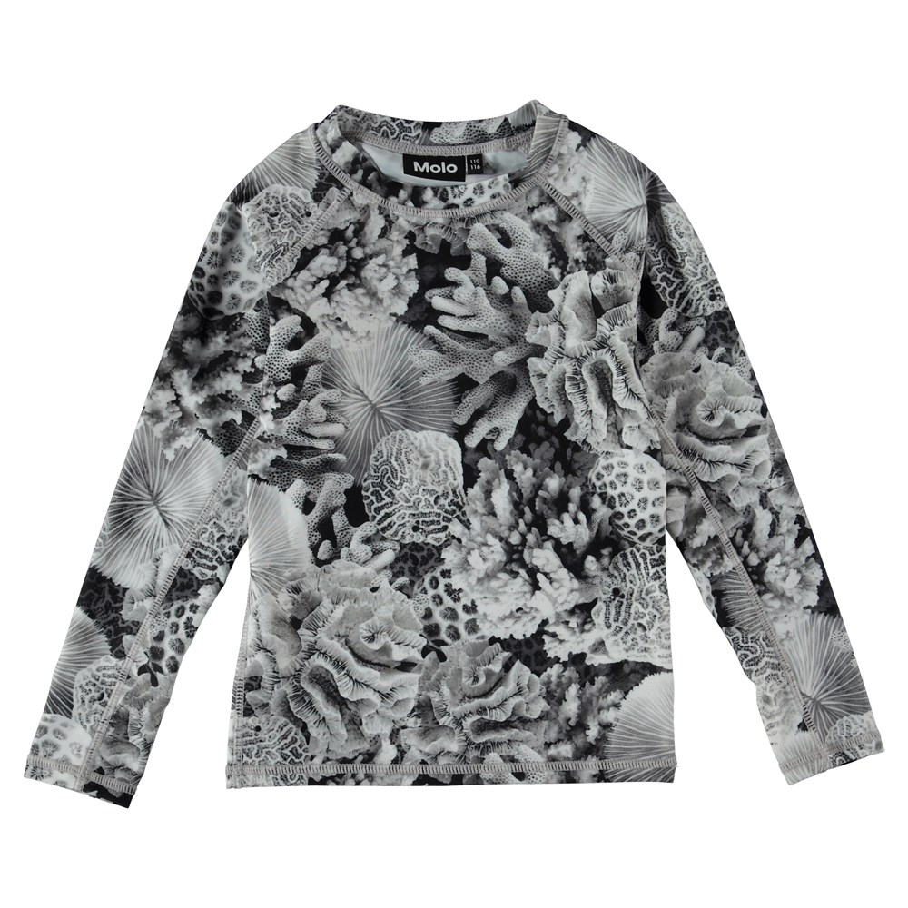 Neptune LS - Corals - UV rash guard with coral.