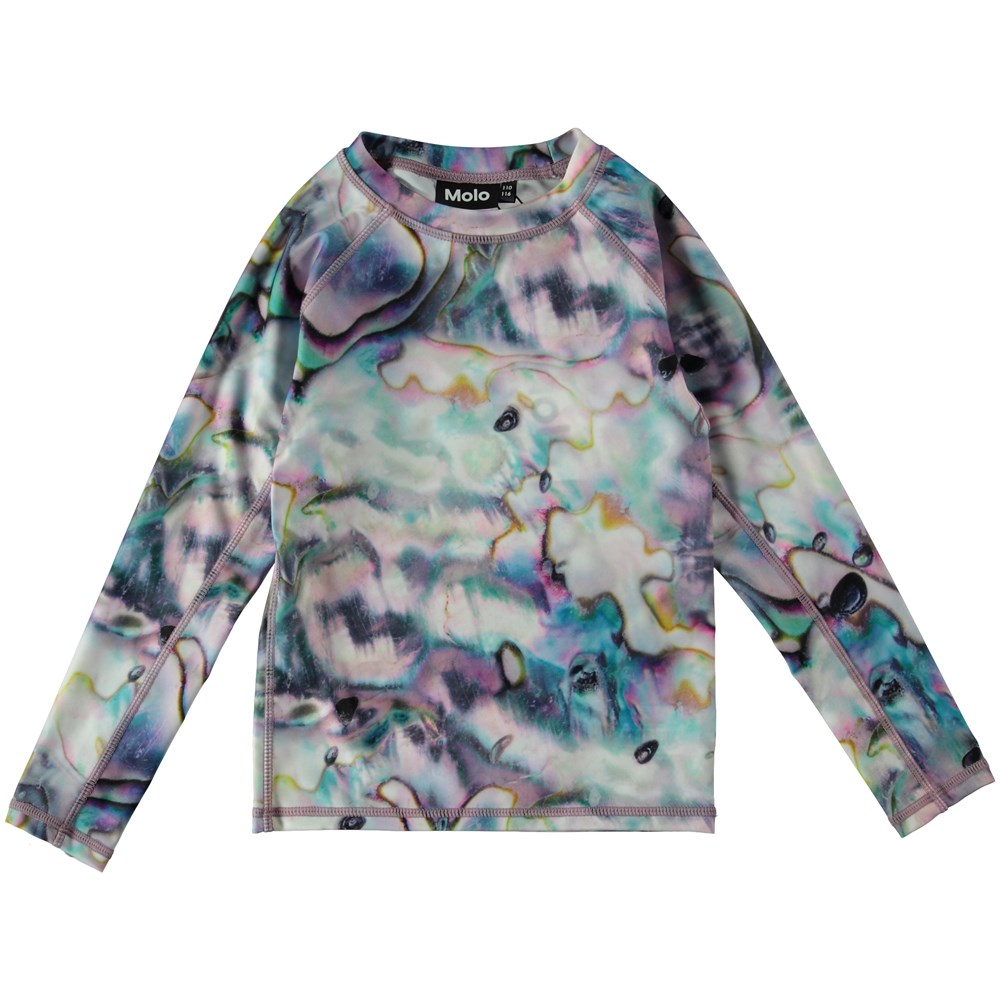 Neptune LS - Shells - UV rash guard with print.