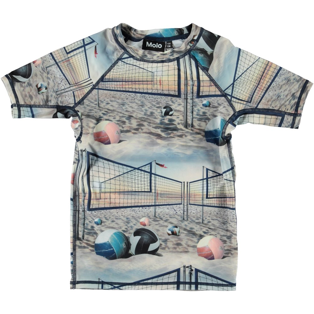 Neptune - Volleyball Sunset - Printed UV rash guard.