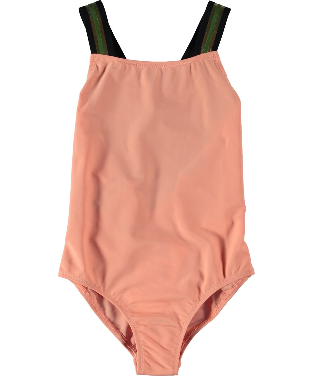 Neve - Blooming - Swimsuit with cross straps