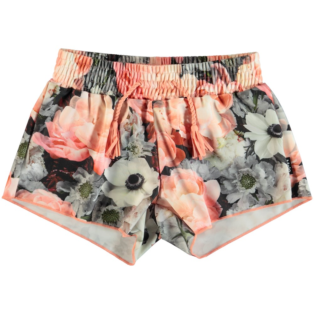 Nicci - Blossom - Flowered swim trunks