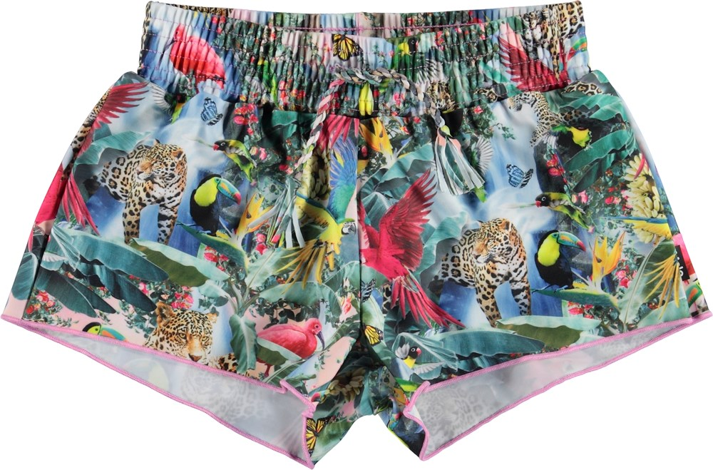 Nicci - Wild Amazon - UV swim trunks with wild animals