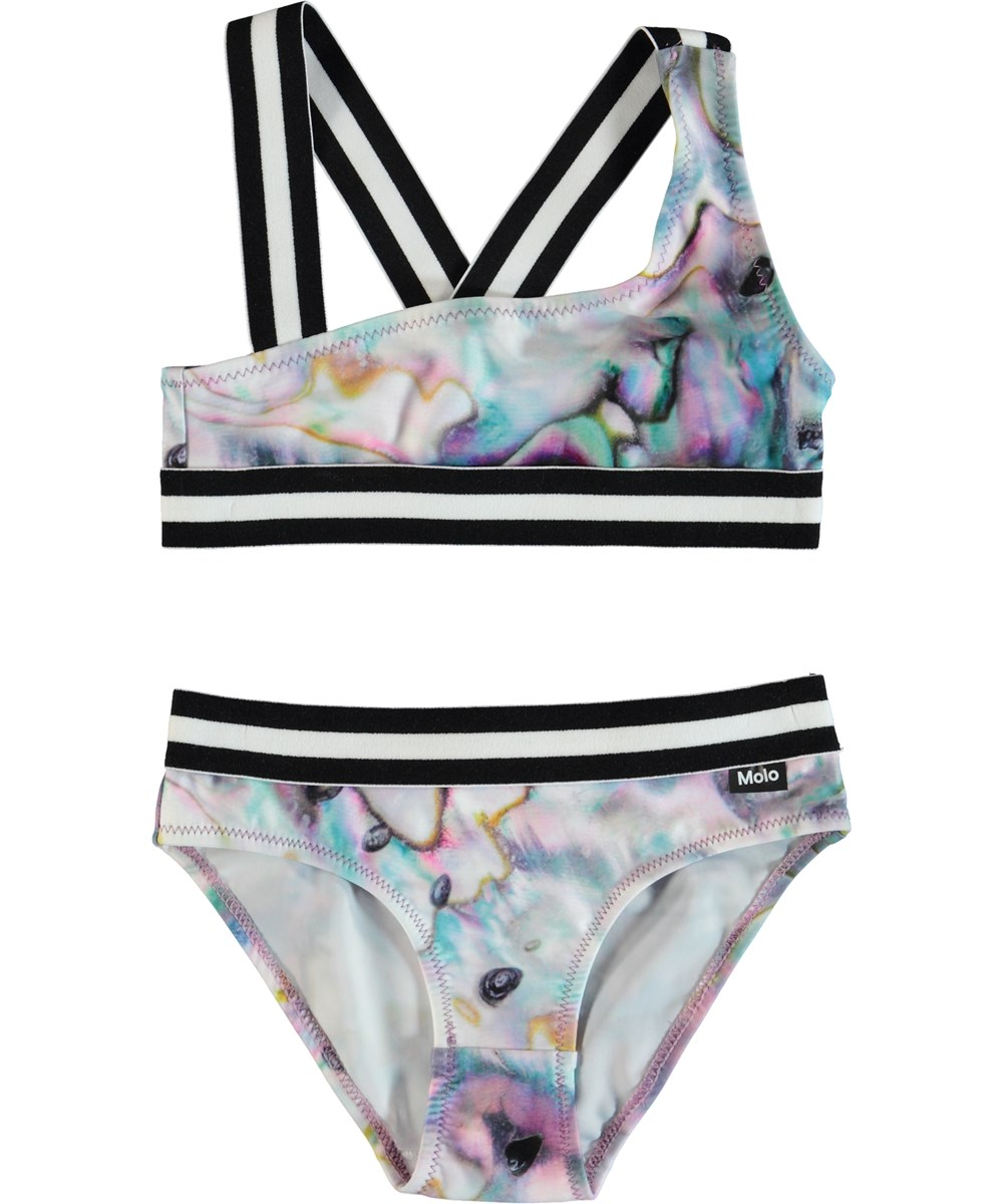 Nicola - Shells - Asymmetrical bikini.