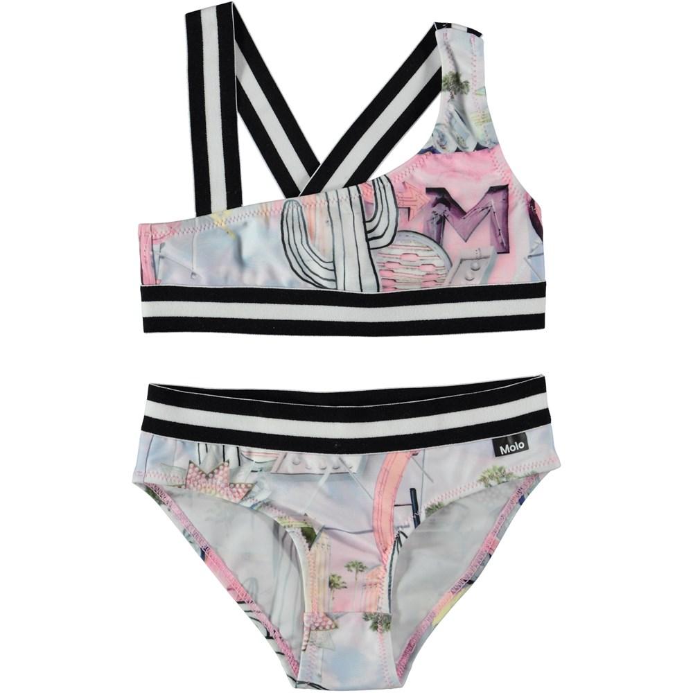 Nicola - Signs - Asymmetrical bikini