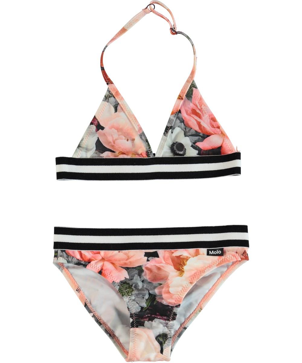Nicoletta - Blossom - Triangular halter top bikini