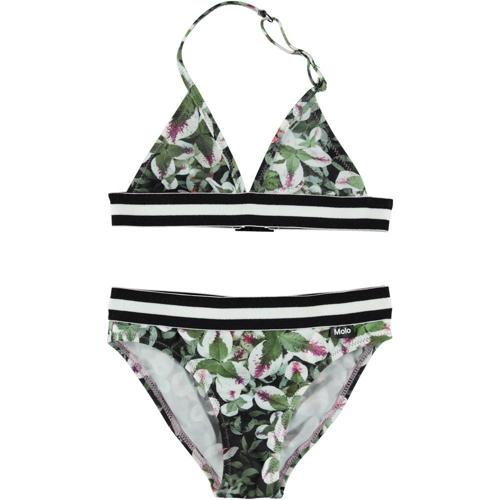Nicoletta - Clover - Triangle bikini with ladybugs.