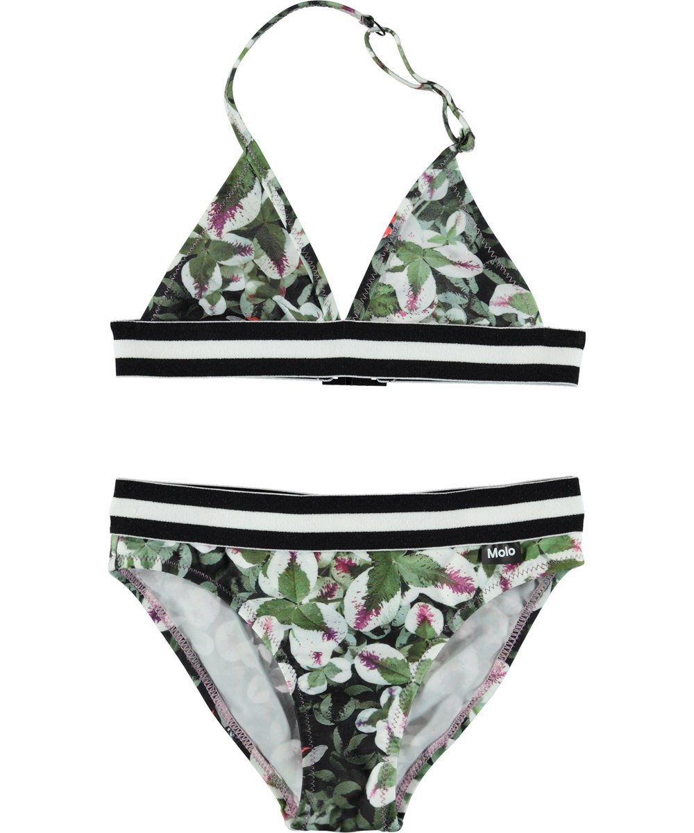 Nicoletta - Clover - Triangle bikini with ladybugs.