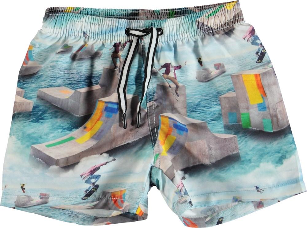 Niko - Ocean Skate - Swim trunks with skaters