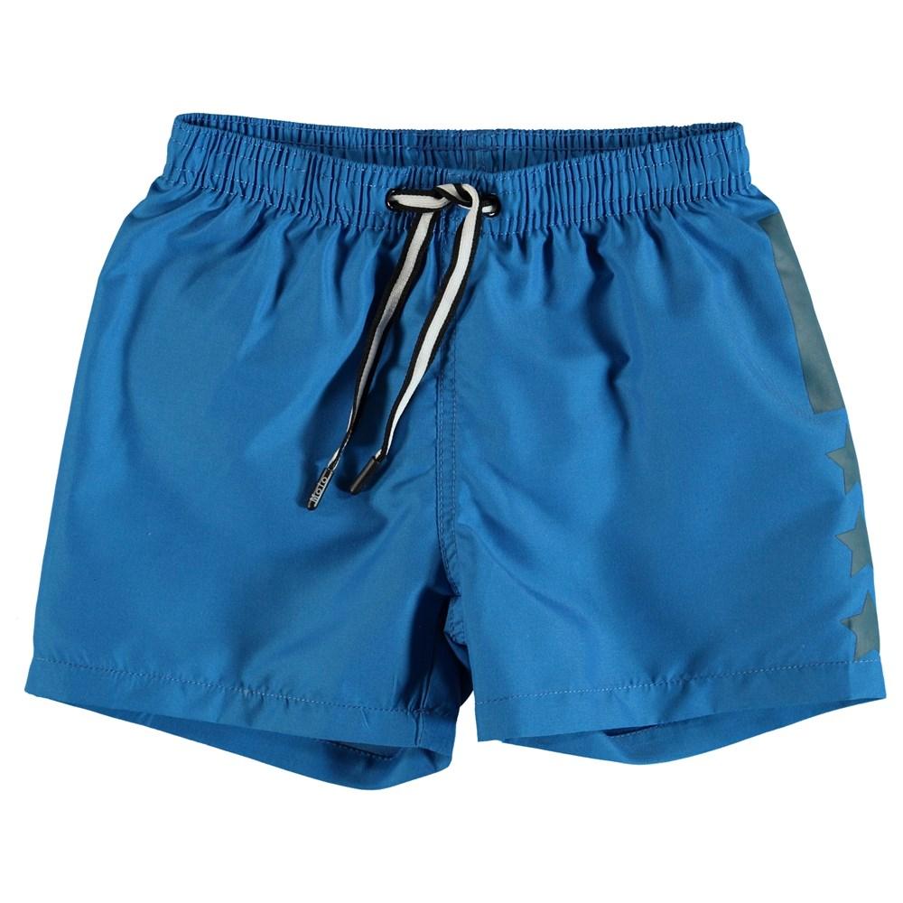 Niko Solid - Indigo Blue - Blue swim trunks