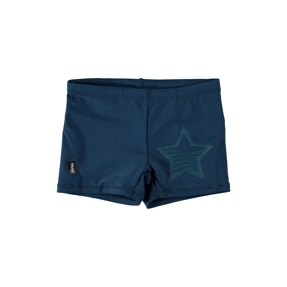 Norton Solid - Deep Dive - Short navy blue swim trunks