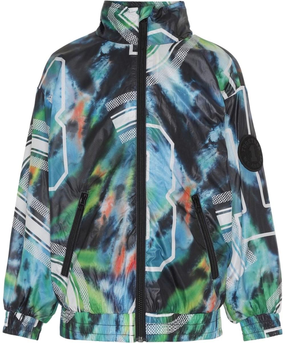 Hansel - Tie Dyed Numbers - Tie-dye jacka